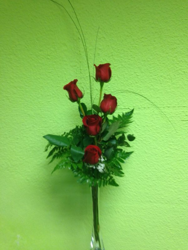 5 rosas con arron  36€