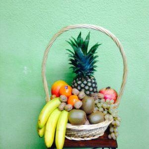 Cesta de frutas - Yamil Floristas