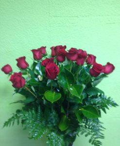 18 rosas rojas - Yamil Floristas