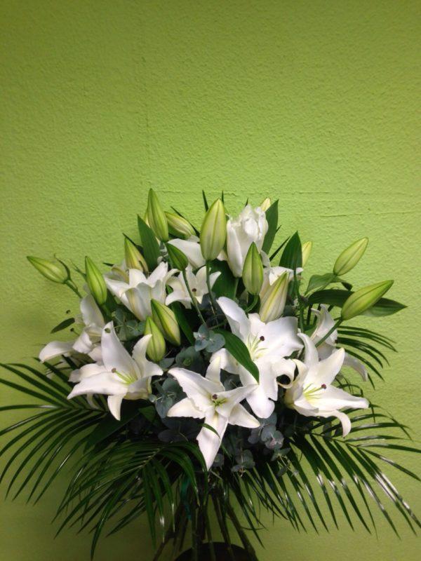 Ramo de flores  lilium oriental - Yamil Floristas