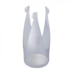 base de plastico para poner agua al ramo (sustituto del jarron)